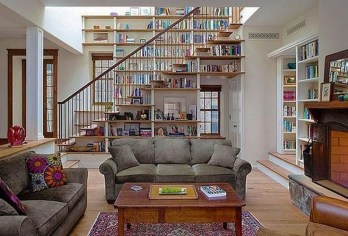 Magnificient Home Design Ideas With Library You Should Keep 25