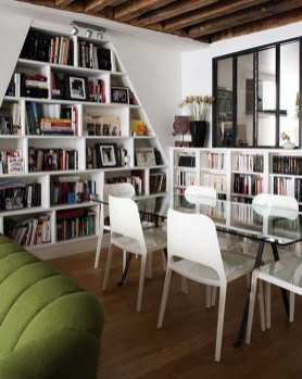 Magnificient Home Design Ideas With Library You Should Keep 30
