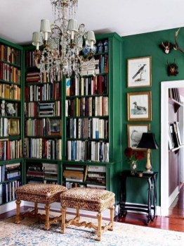 Magnificient Home Design Ideas With Library You Should Keep 33