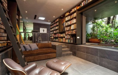 Magnificient Home Design Ideas With Library You Should Keep 49