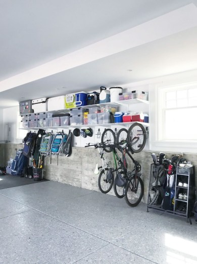 Pretty Garage Floor Design Ideas That You Can Try In Your Home 04