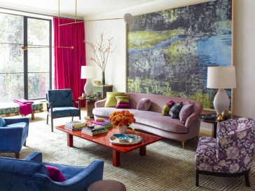 Stylish Colorful Apartment Decor Ideas For Summer 18