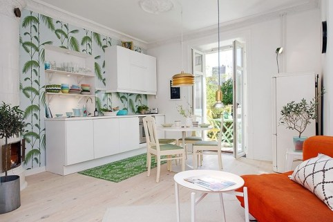 Stylish Colorful Apartment Decor Ideas For Summer 38