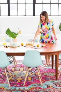 Stylish Colorful Apartment Decor Ideas For Summer 39