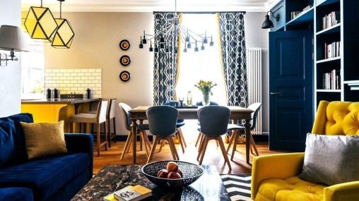 Stylish Colorful Apartment Decor Ideas For Summer 42