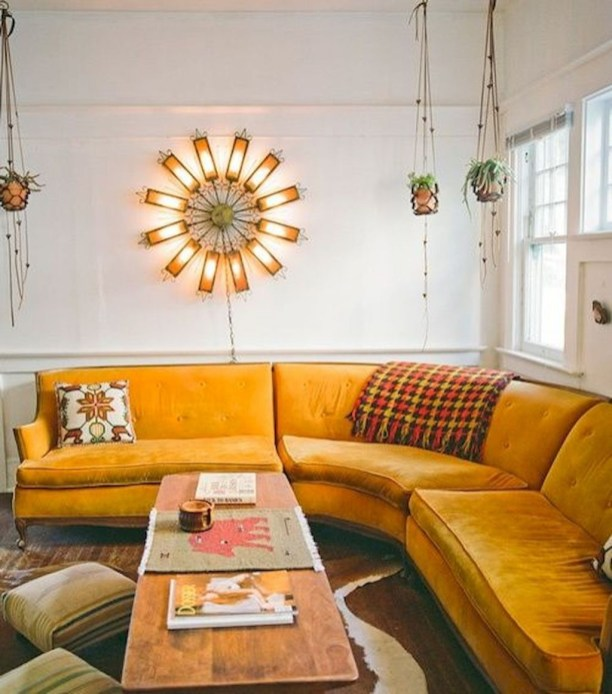 Stylish Colorful Apartment Decor Ideas For Summer 45