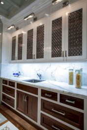 Unique Painted Kitchen Cabinets Design Ideas With Two Tone 15