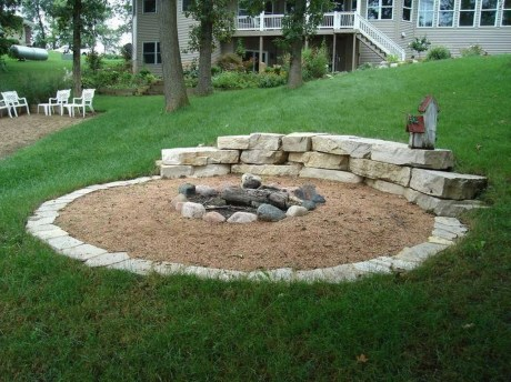 Modern Diy Firepit Ideas For Your Yard This Year 29
