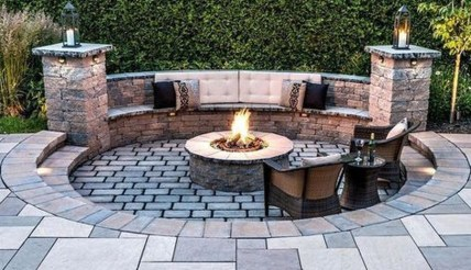 Modern Diy Firepit Ideas For Your Yard This Year 38