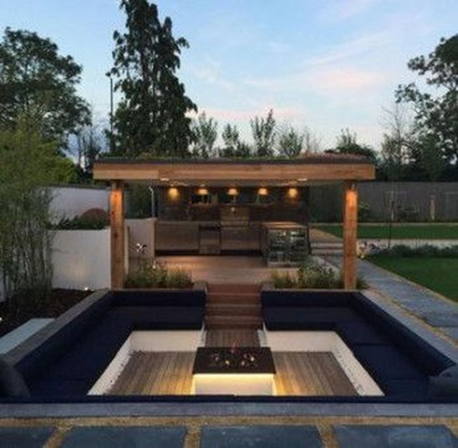 Modern Diy Firepit Ideas For Your Yard This Year 45