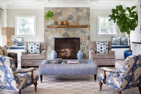 Superb Warm Family Room Design Ideas For This Winter 08