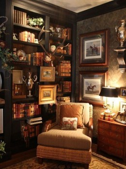 Superb Warm Family Room Design Ideas For This Winter 46