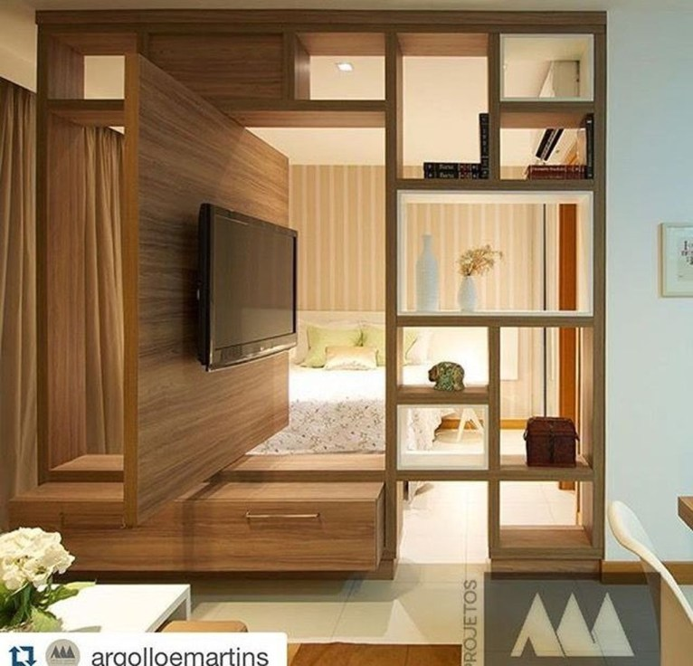 Unordinary Tv Stand Design Ideas For Small Living Room 19