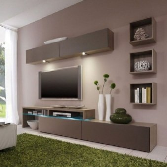 Unordinary Tv Stand Design Ideas For Small Living Room 44