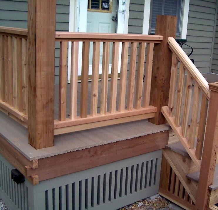 Admiring Deck Railling Ideas That Will Inspire You 43