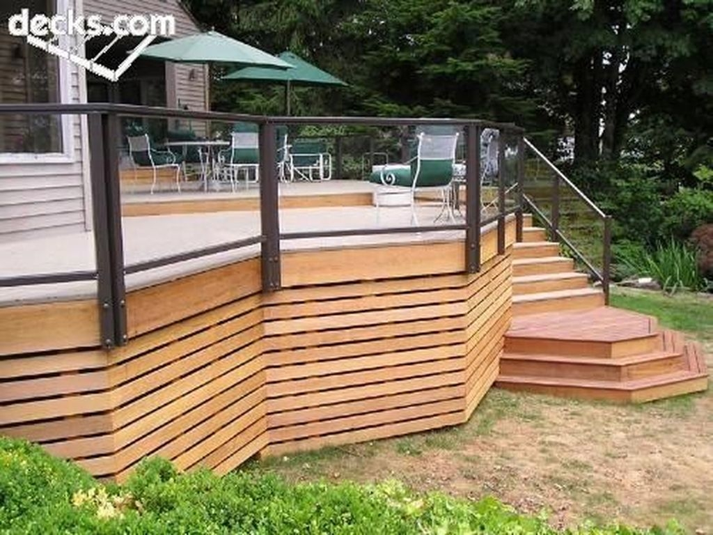 Admiring Deck Railling Ideas That Will Inspire You 44