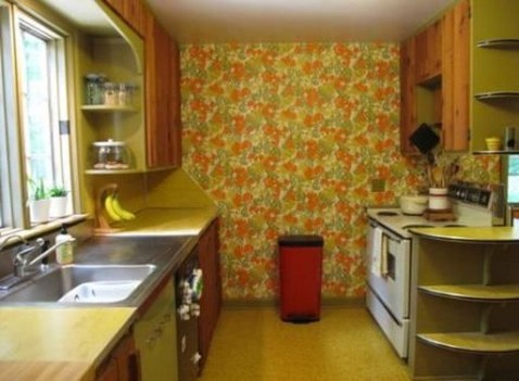 Awesome Retro Wallpaper Decor Ideas To Try 39