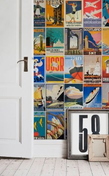 Awesome Retro Wallpaper Decor Ideas To Try 40
