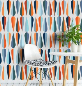 Awesome Retro Wallpaper Decor Ideas To Try 42