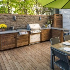 Comfy Kitchen Balcony Design Ideas That Looks Cool 31