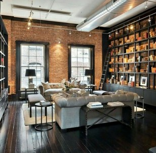 Delicate Exposed Brick Wall Ideas For Interior Home Design 09