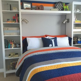 Excellent Teenage Boy Room Décor Ideas For You 49