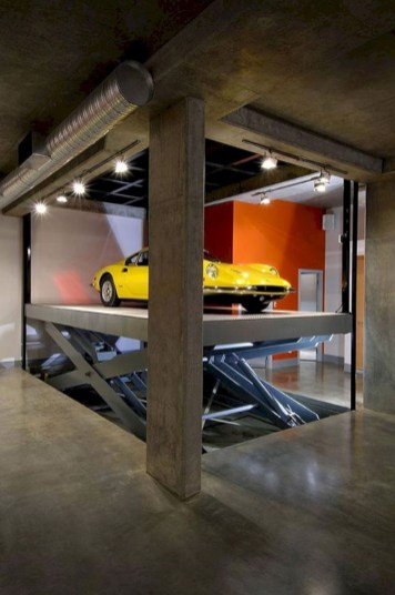Graceful Car Garage Design Ideas For Your Home 08