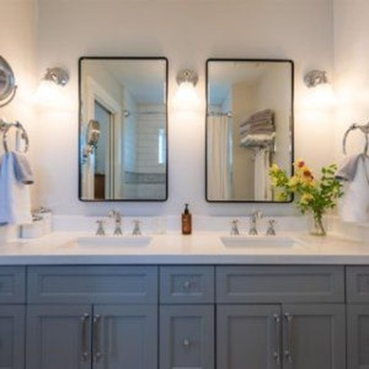 Newest Bathroom Mirror Decor Ideas To Try 02