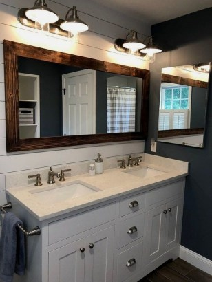 Newest Bathroom Mirror Decor Ideas To Try 03