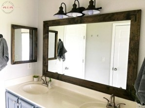 Newest Bathroom Mirror Decor Ideas To Try 44