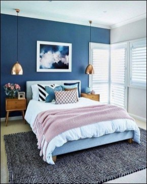 Top Blue Master Bedroom Design Ideas That Looks Great 42
