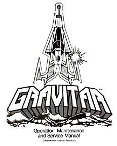 Atari Gravitar Manual