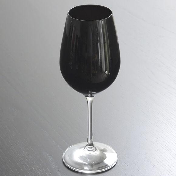 verre à vin noir