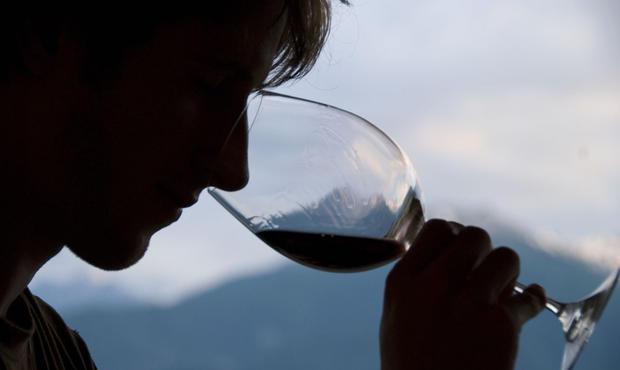 verre à vin nez