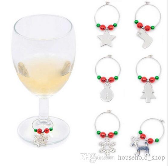verre à vin noel