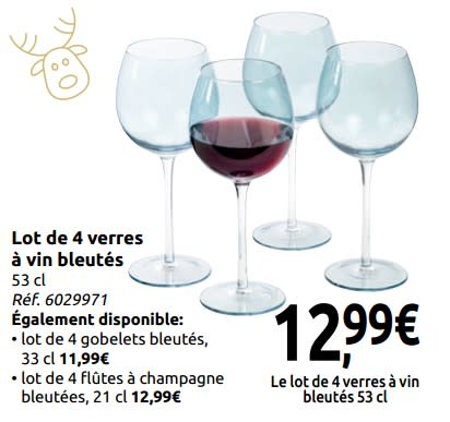 lot verre a vin carrefour