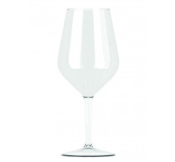 verre a vin plastique blanc personnalisable