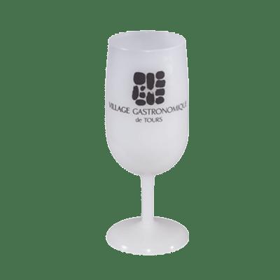verre à vin réutilisable