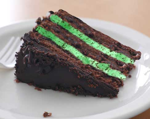 Mint Chocolate Chipe Ice Cream Cake Recipe