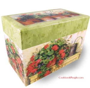 Recipe box, recipe boxes