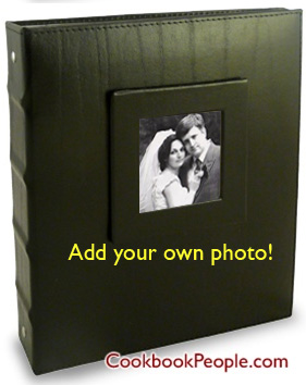 Wedding Recipe Binder gift