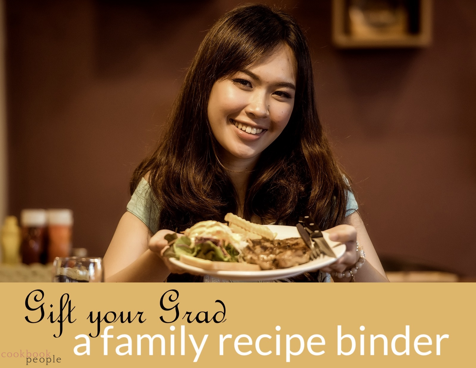 Gift your grad a family recipe binder