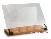 Acrylic - Clear Cookbook Stands Made in USA Cookbook Stand ...