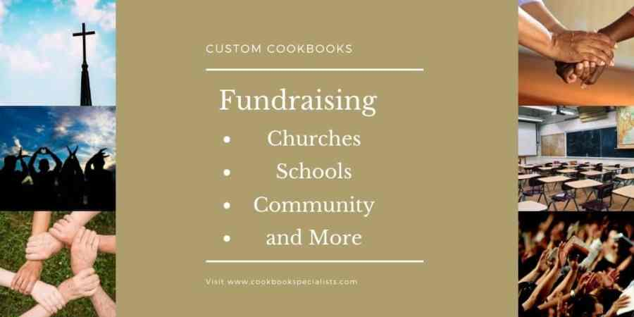 Fundraising Cookbooks