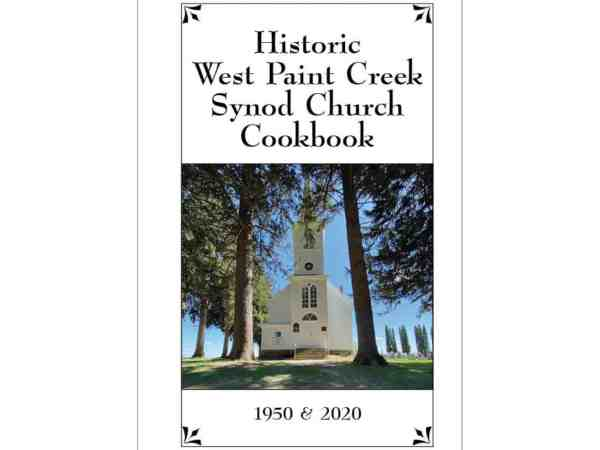 Historic West Paint Creek Synod Church Cookbook