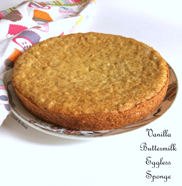 Vanilla Buttermilk Eggless Sponge-2