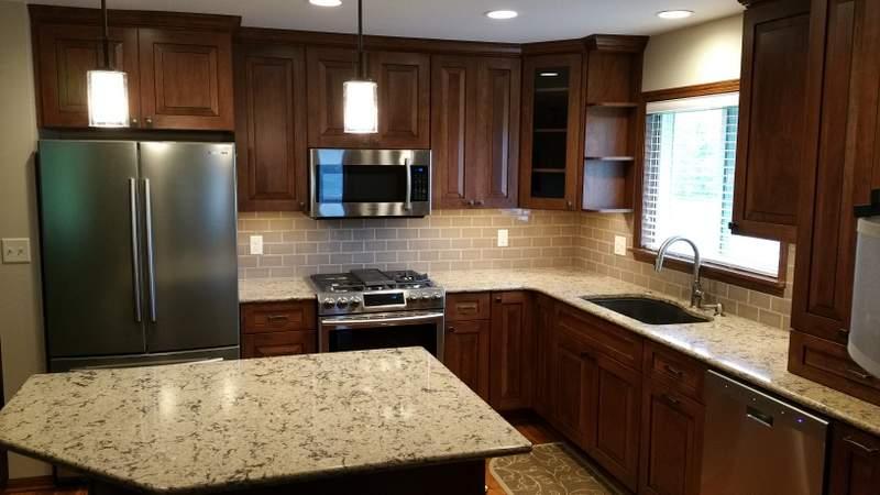 Kitchen  Living Room Remodel
