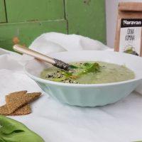 Kremna juha stebelne zelene