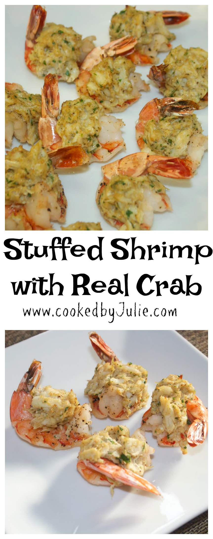 Try this stuff shrimp appetizer from Cooked by Julie