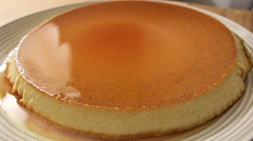 Traditional Mexican flan recipe from Cooked By Julie.